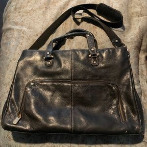 Genuine Leather Laptop/Messanger Bag by IC